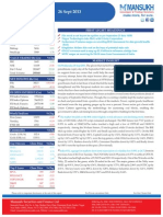 Equity Morning Note 26 September 2013-Mansukh Investment and Trading Solution