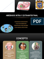 Amebiasis Intra y Extraintestinal