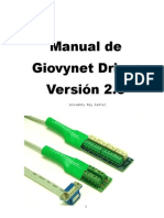 Manual de Giovynet Driver Version 2.0 Primera Edicion