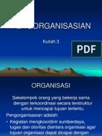 Bab 3 Pengorganisasian
