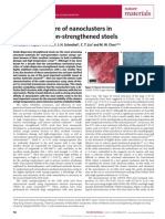 Nature Materials - Atomic Structure of Nanoclusters in Oxide-dispersion-strengthened Steels