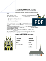 Denominations Words (1)