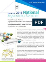 HFEM National Conference 2013 Flyer
