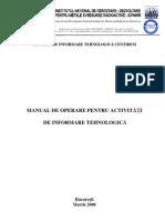 Manual de Operare Centirem, Dr. ing. Dan C. Badea