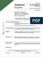 NF EN ISO 6506-1
