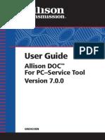 Allison DOC 7.0 User Guide