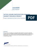 StrategicLeisurePlan-ProjectReport
