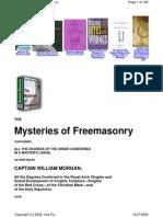 Mysteries of Freemasonry - Morgan