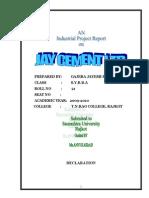 Gajera Jayesh Jay Cement Ltd.