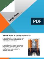 Spray Dryer