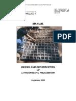 Lithospecific Piezometer Manual