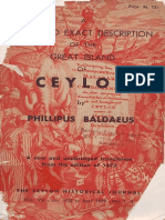 Baldaeus, Philip - A True and Exact Description of the Great Island of Ceylon