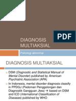 01 Pertemuan Ke-1 Dan Ke-2 Diagnosis Multiaksial