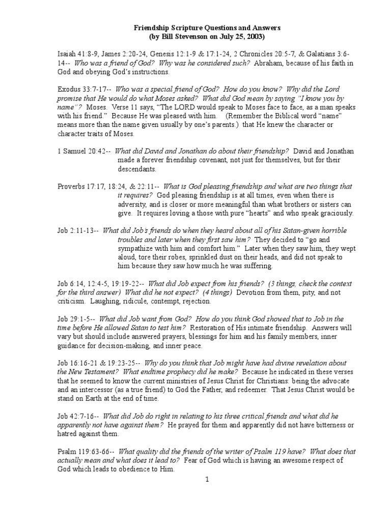 2-- PFHL 610-- Suggested Answers | New Testament Content | Jesus