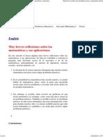 Aplicaciones de las matemáticas, matemáticas, Matemáticas, matematicas, aplicaciones