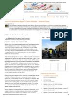 La alameda Chabuca Granda - Diario Lima la Ciudad de los Reyes, El Centro Histórico – itinerario Oeste - Diarios de viaje de Lima _ Viajeros