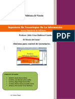 Ingeneria de Software Proyecto Final