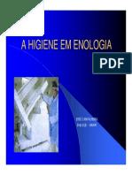 Higiene em enologia