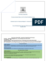 Patronage Assessment Report to the New Schools Establishment Group Assessment Report for Sandymount Ringsend