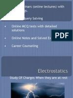 Important tips on Physics-Electrostatics - JEE Main / NEET