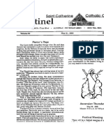 Source Sentinel, Pastor's Page (Fr. Leo Broderick