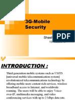 3G Mobile Security - Basics