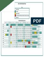 2013-2014 School Holiday Dates