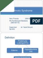 2 Sindroma Nefrotik Pesentasi Lapkas Heru Rio