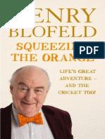 Squeezing the Orange - Henry Blofeld - extract