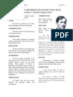 The Talents and Skills of José Protasio Rizal Mercado y Alonso Realonda