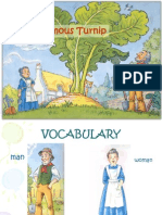 VOCABULARY - The Enormous Turnip