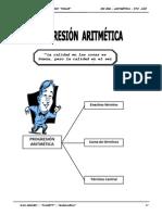 III BIM - Aritmetica - 5to. año -  Guía 3 - Progresión Aritm