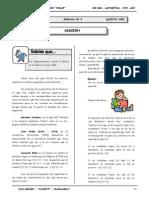 III BIM - Aritmetica - 5to. año -  Guía 5 - Adición