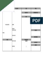 2013 Call Sheet