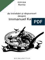Mircea Flonta-20 de Intrebari Si Raspunsuri Despre Immanuel Kant