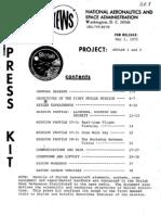 NASA Skylab 1 & 2 Press Kit