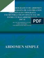 Extra Clase - Radiologia Abdomen - Dr. Martinez