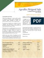 AgroBio Périgord Info