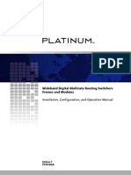 Harris Platinum Frame and System Edition