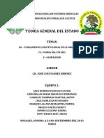 Teoría General del Estado - Temas III-V
