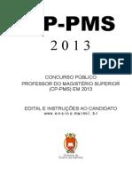 Edital Cp Pms