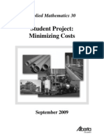 Students Project (Cost Minimizing)