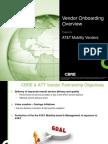 ATTMM - Vendor Onboarding - 20130925
