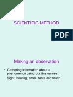 Chp 1 Scientific Method