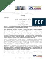 Ley de ISLR 2007