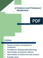 Disorders of Sodium and Potassium Metabolism