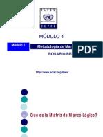 Presentación Marco Lógico 01_Rosario Bello