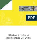 BCSA Code of Practice for Metal Decking and Stud Welding