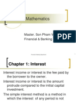 Financial Mathematics Chapter1