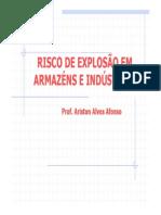 RISCO DE EXPLOSÃO
